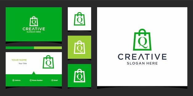 Projektowanie logo q shop