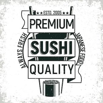Projektowanie logo rocznika sushi bar