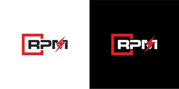 Projektowanie logo rpm dla motoryzacji