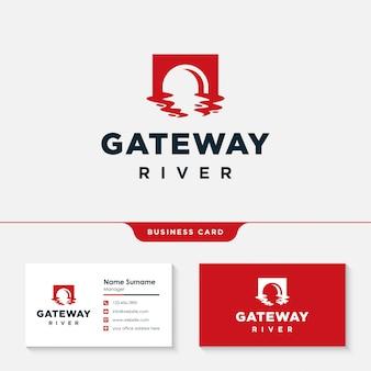 Projektowanie logo rzeki gateway