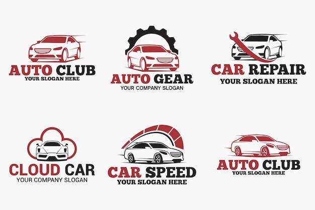 Projektowanie logo samochodu samochodowego
