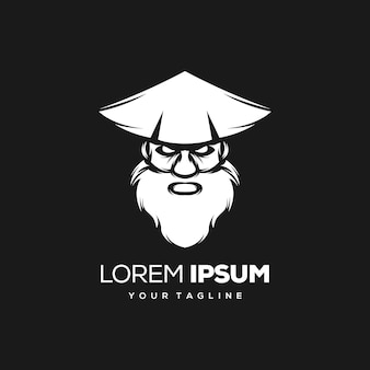 Projektowanie logo samuraja
