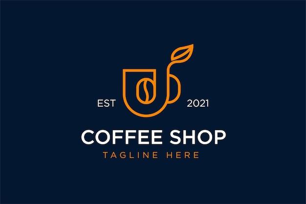Projektowanie logo sklepu z kawą