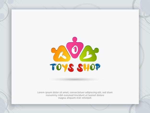 Projektowanie logo sklepu z zabawkami