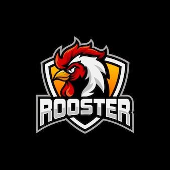 Projektowanie logo sport maskotka kogut