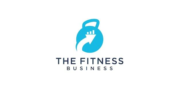 Projektowanie logo sportu biznesowego