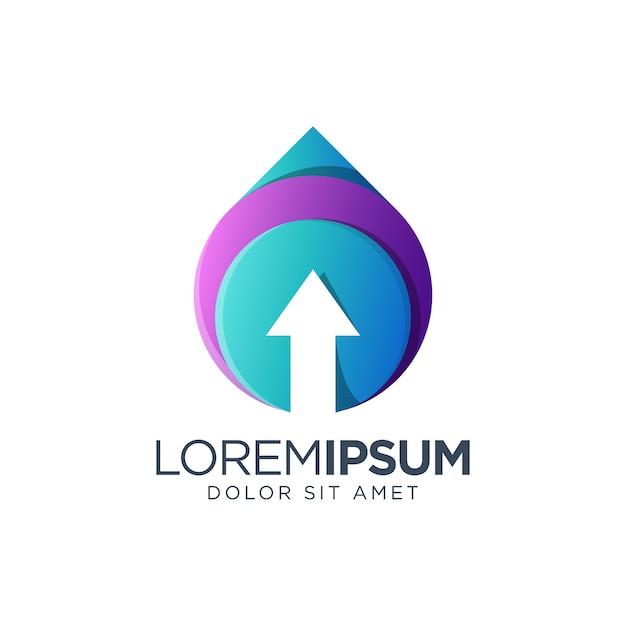 Projektowanie Logo Strzałki Premium Wektorów