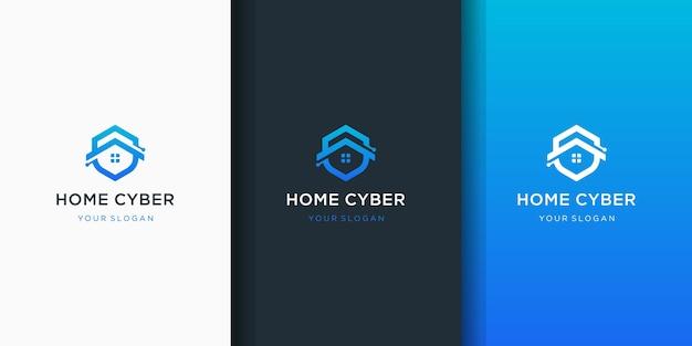 Projektowanie logo tarczy domu