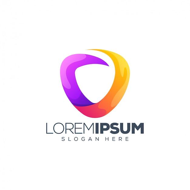 Projektowanie logo tarczy