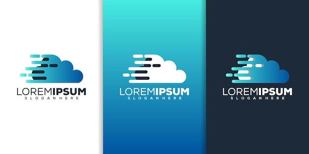Projektowanie logo technologii chmury