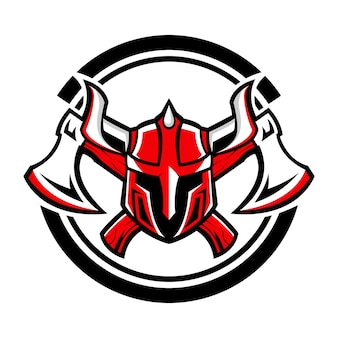 Projektowanie logo viking axe