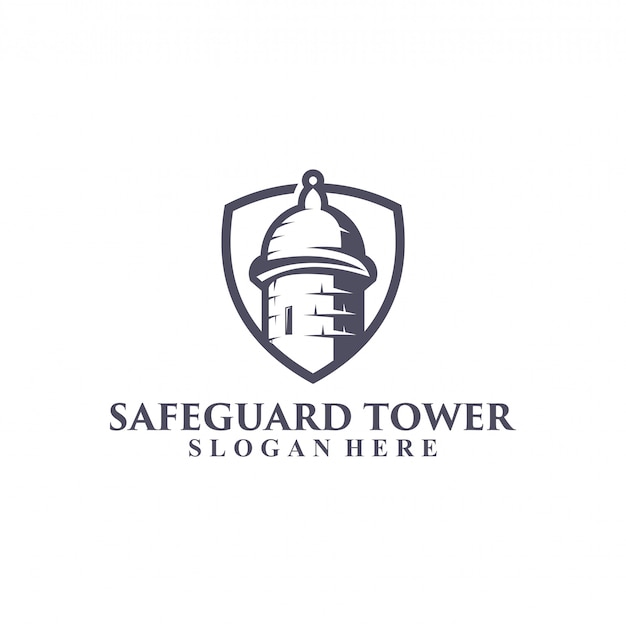 Projektowanie logo wieży ochronnej