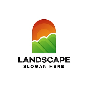 Projektowanie logo z gradientem poziomym