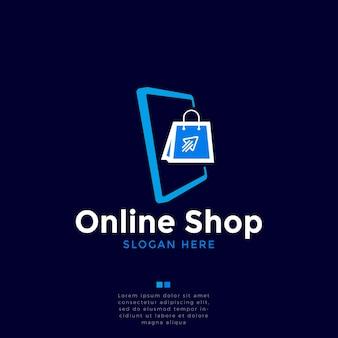 Projektowanie logo zakupów online