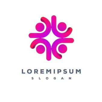 Projektowanie logo zespołu biznesowego