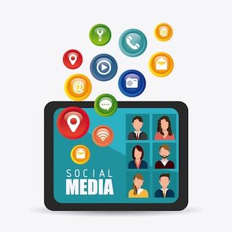 Projektowanie mediów społecznościowych.