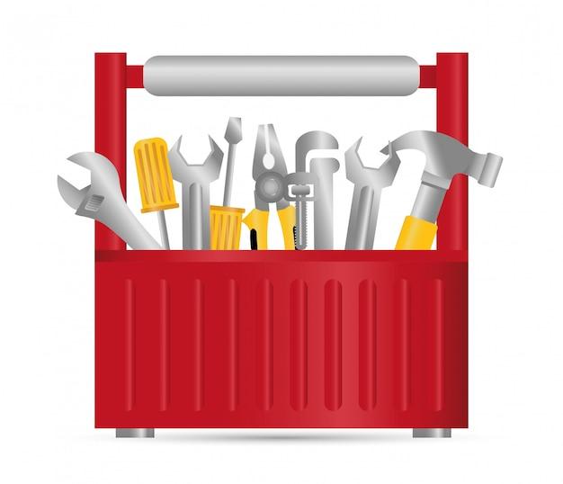 Projektowanie narzędzi. ikona klatki dla ptaków. obiekt dekoracji. koncepcja vintage, wektor wykres