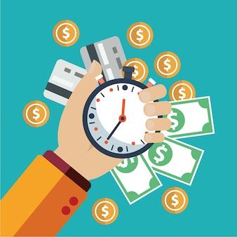 Projektowanie pieniądze tle