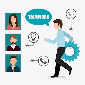 Projektowanie pracy zespołowej.