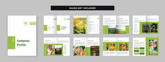 Projektowanie profilu firmy rolniczej