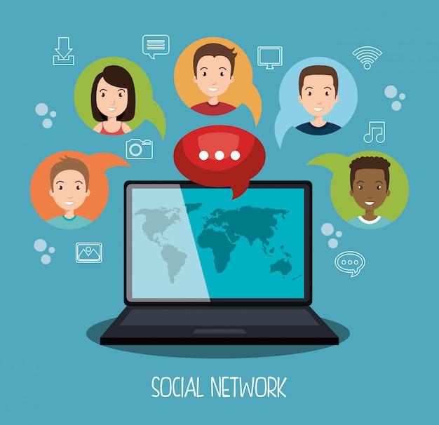 Projektowanie sieci społecznościowych