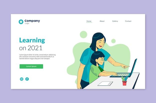 Projektowanie stron docelowych do nauki online