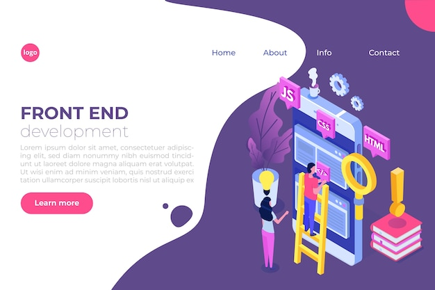 Projektowanie stron internetowych i koncepcja izometryczna rozwoju front-endu