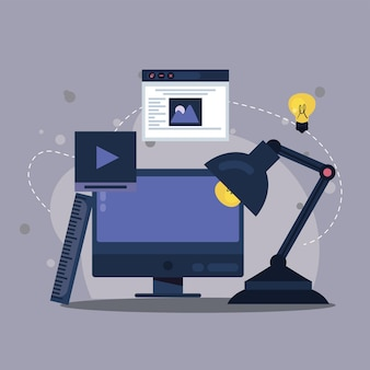 Projektowanie stron internetowych na pulpicie