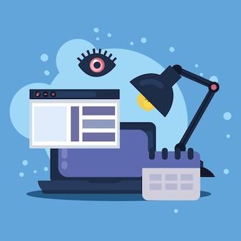 Projektowanie stron internetowych w laptopie