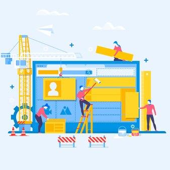 Projektowanie strony internetowej lub aplikacji