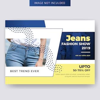 Projektowanie szablonów ulotek mody