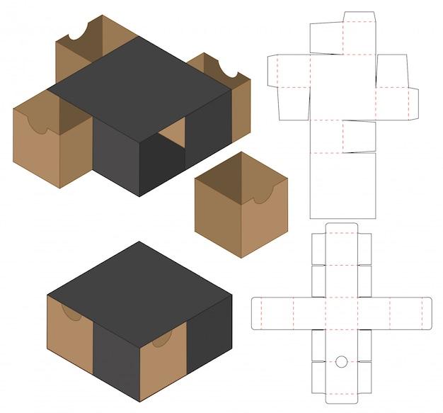 Projektowanie szablonów wycinanych w pudełku
