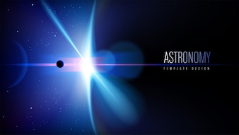 Projektowanie szablonu motywu astronomicznego