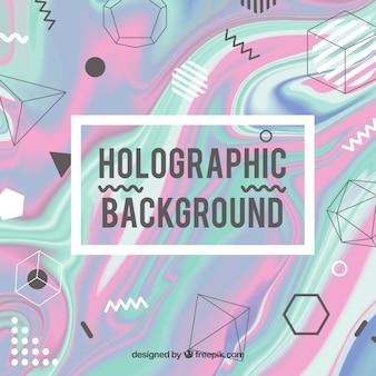 Projektowanie tła holograficznego