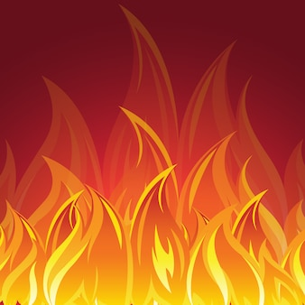 Projektowanie tle pożaru