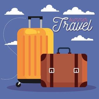 Projektowanie toreb letnich i podróżnych, turystyka wyjazdowa i motyw przewodni