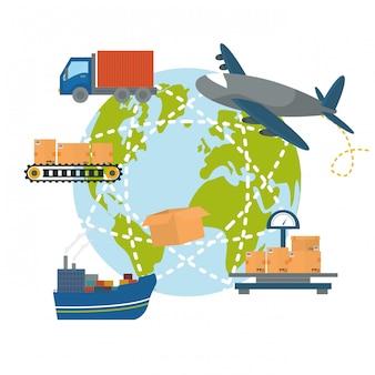 Projektowanie transportu logistycznego