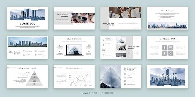 Projektowanie układu prezentacji biznesowych z planszą