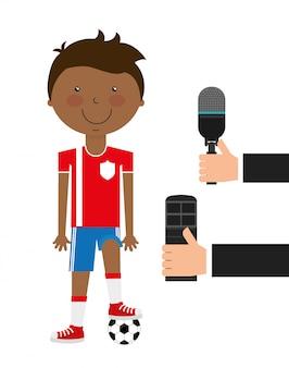 Projektowanie wiadomości sportowych