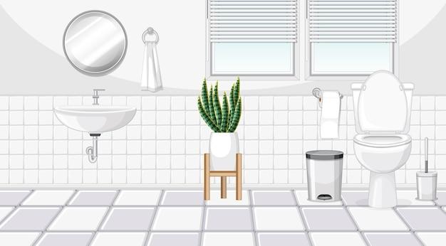 Projektowanie wnętrz łazienki z meblami