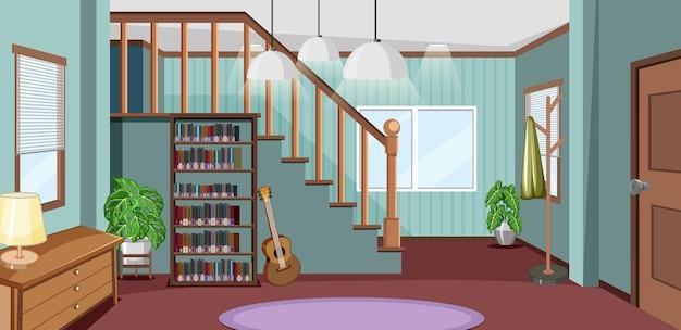 Projektowanie wnętrz salonu z meblami