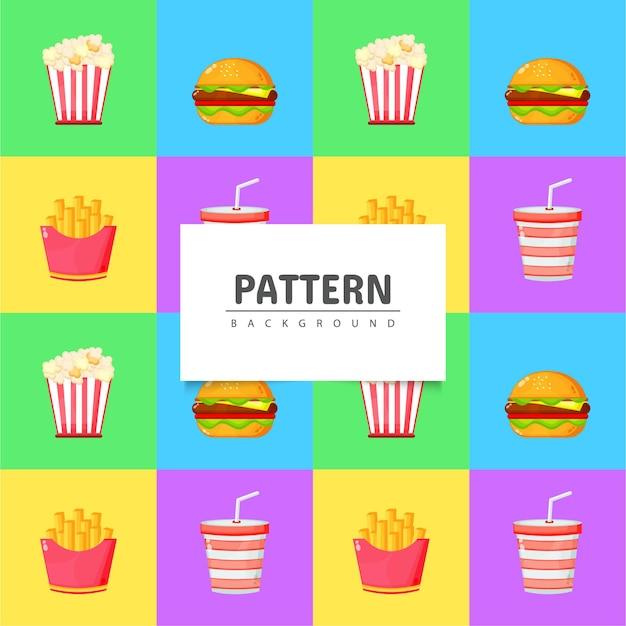 Projektowanie wzorów fast foodów