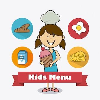 Projektowanie żywności dla dzieci.