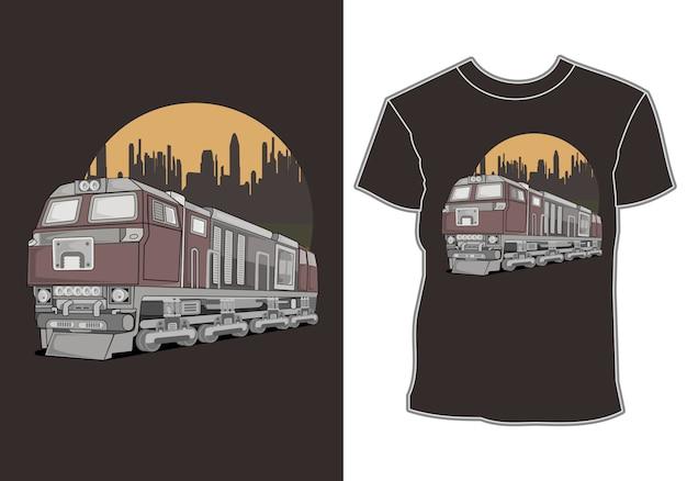 Projekty koszul samochodowych i letnie wakacje