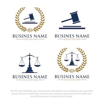 Projekty logo law