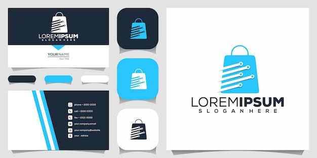 Projekty logo sklepu technologicznego