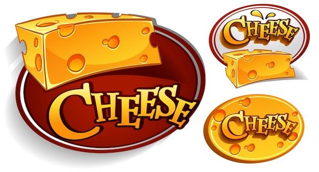 Projekty logo z serem