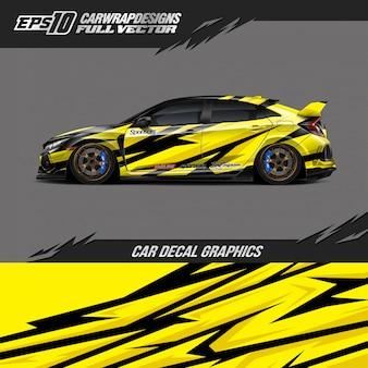 Projekty opakowań samochodowych do samochodów wyścigowych