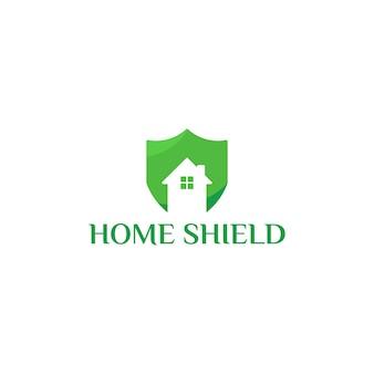 Projekty szablonów logo home shield