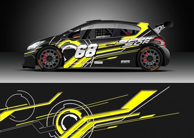 Projekty zawijania samochodów wyścigowych